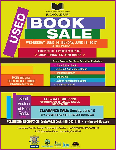 Used Book Sale Flyer