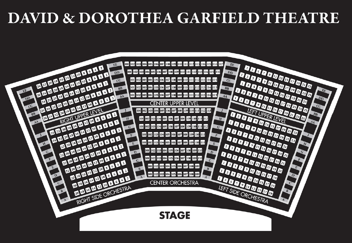 Virtual Tour Seating Chart